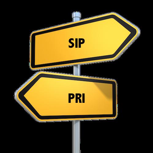 SIP vs. PRI