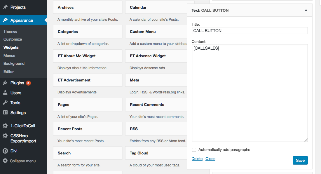 Click-To-call-widget-button