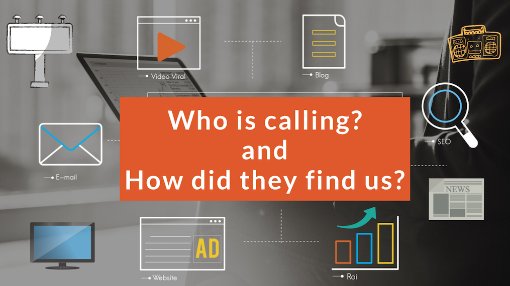 Call Tracking KNOW WHICH OF YOUR ADVERTISING CHANNELS ARE MOST EFFECTIVE!