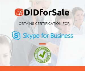 skype for business SIP Trunk certification